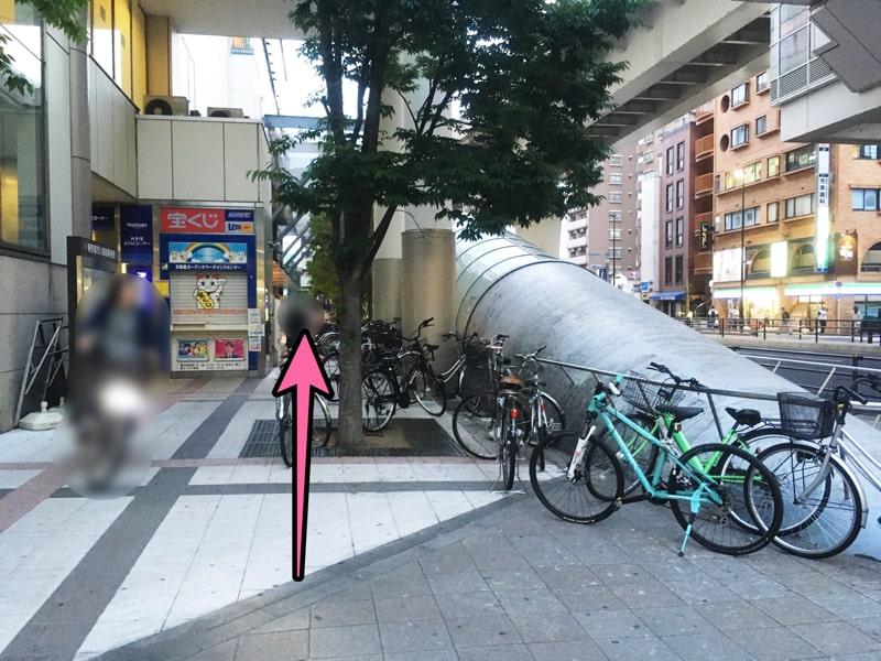 日暮里駅東口